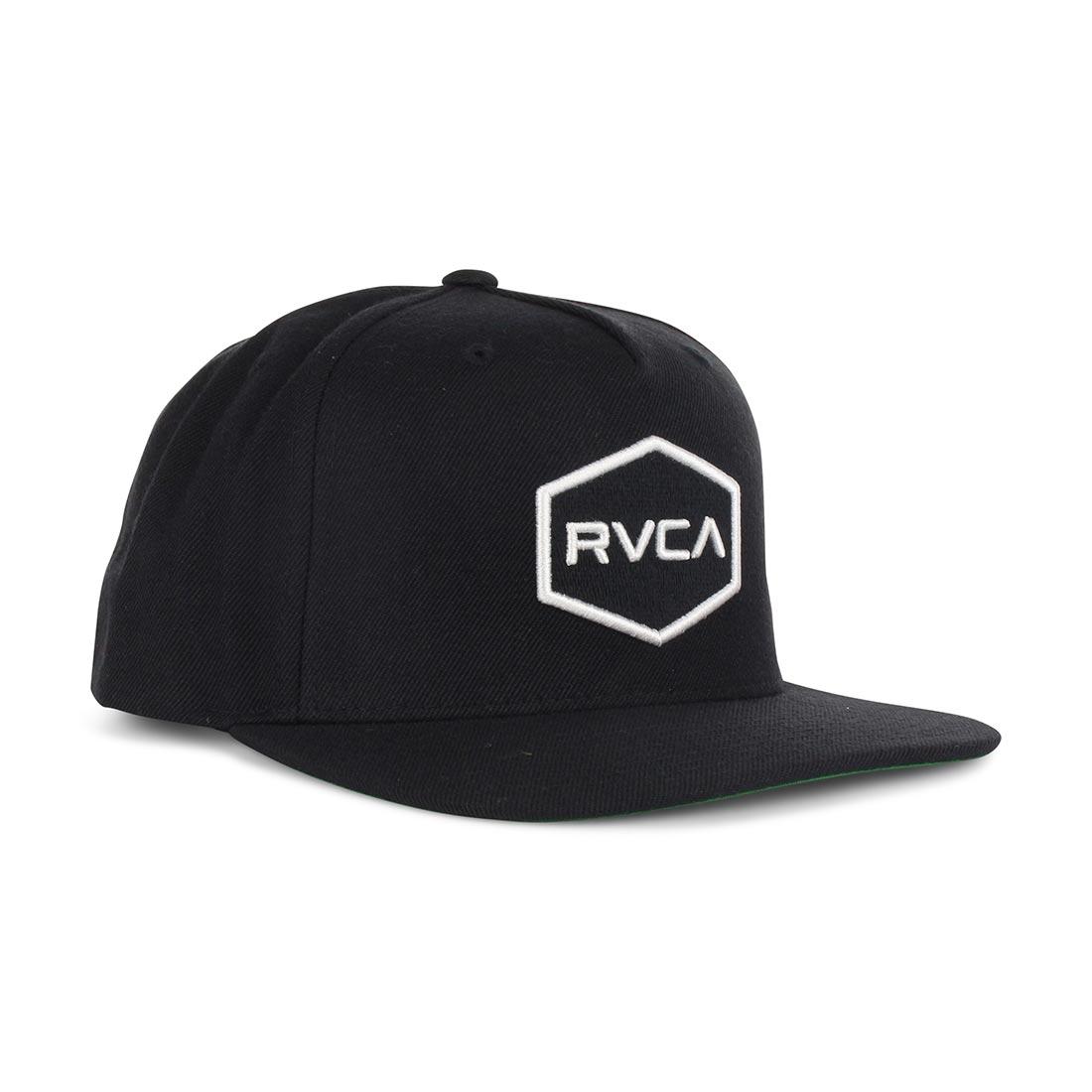 huge selection of 766ea cea2f RVCA Commonwealth Snapback Hat – Black White