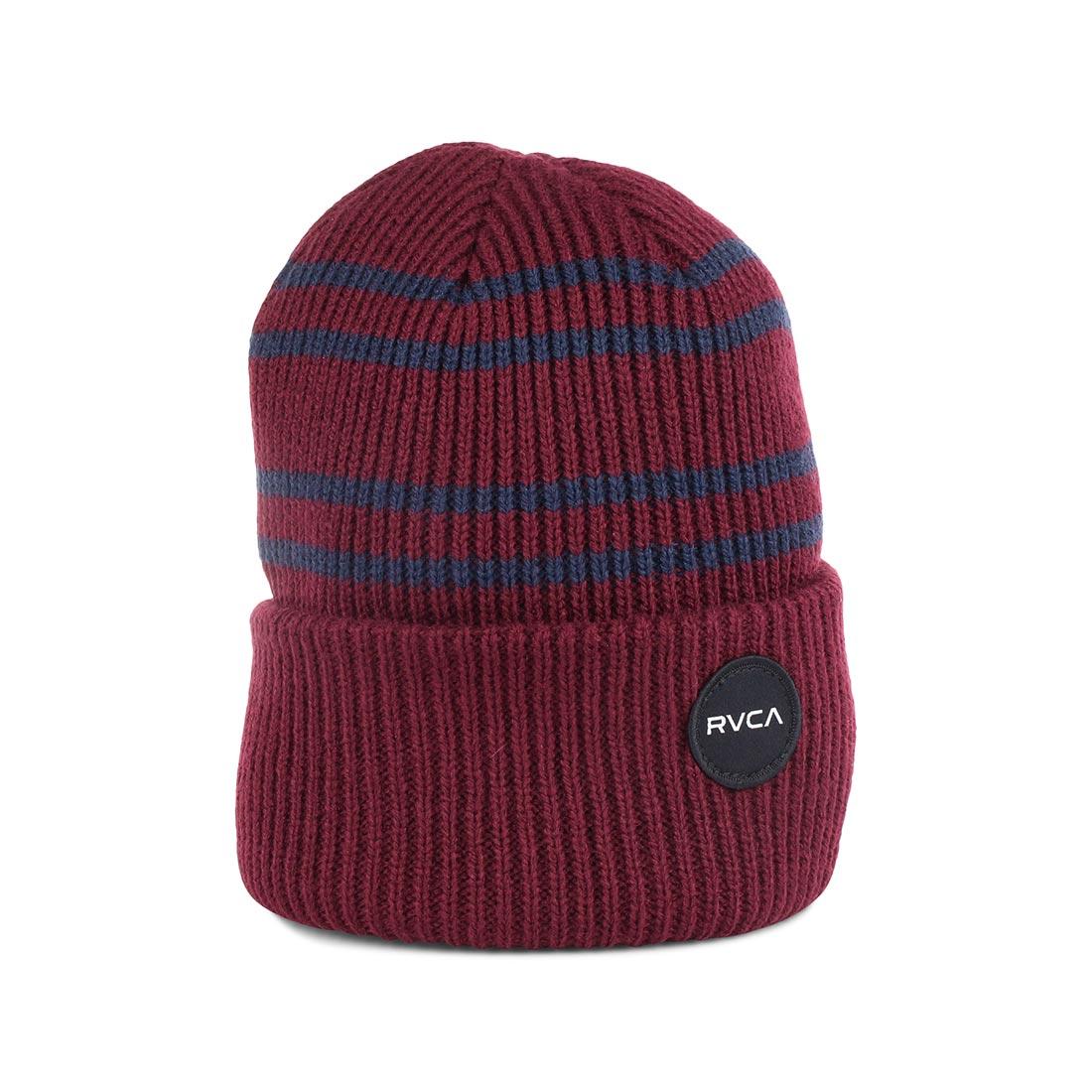 67589c36bc5d RVCA Senate Beanie Hat – Tawny Port