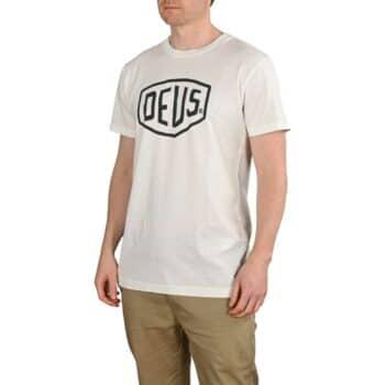 Deus Ex Machina Shield S/S T-Shirt - White