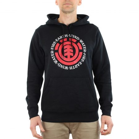 Element Seal Hoodie Black