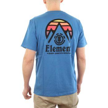 Element Tri Tip T-Shirt Blue