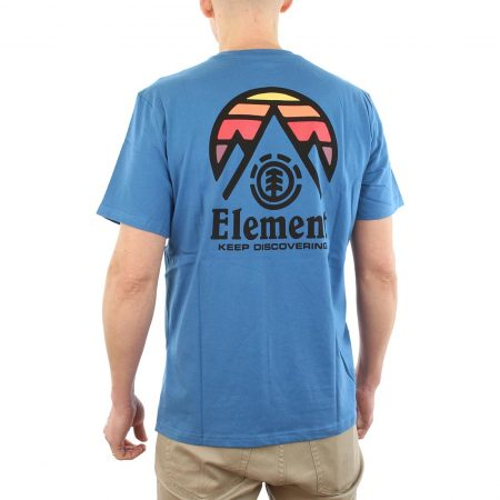 Element Tri Tip T-Shirt Blue