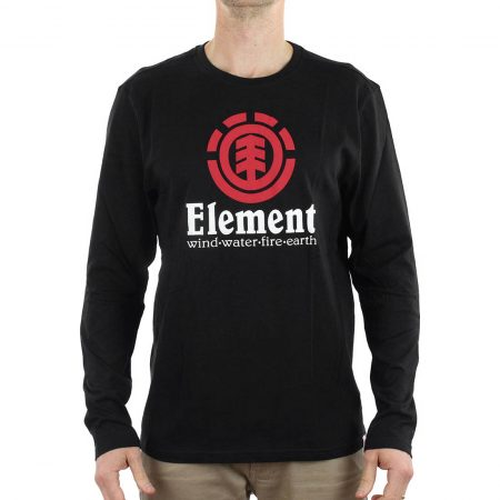 Element Vertical T-Shirt Black