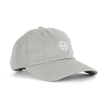 HUF Circle H Hat Grey