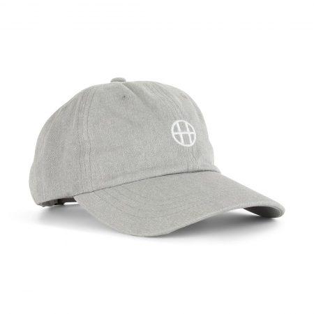 HUF Circle H Hat Grey