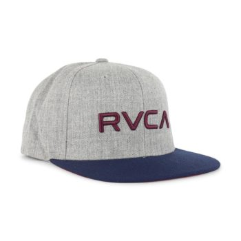 RVCA RV Snapback Heather Grey