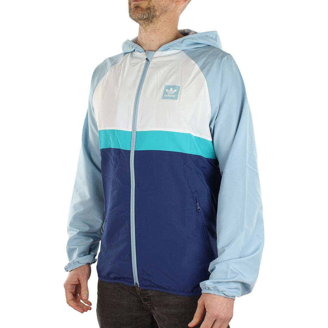 31488adfba Adidas BB Wind Jacket - Art / Ash Grey / Shock Green