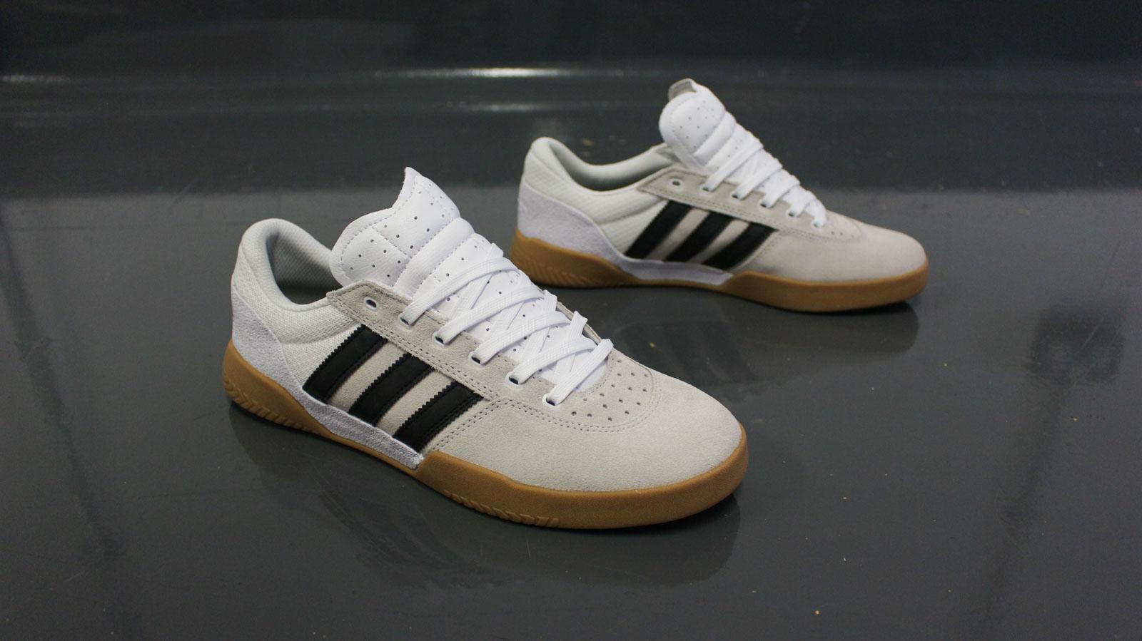 Adidas City Cup Shoes - White Core Black Gum