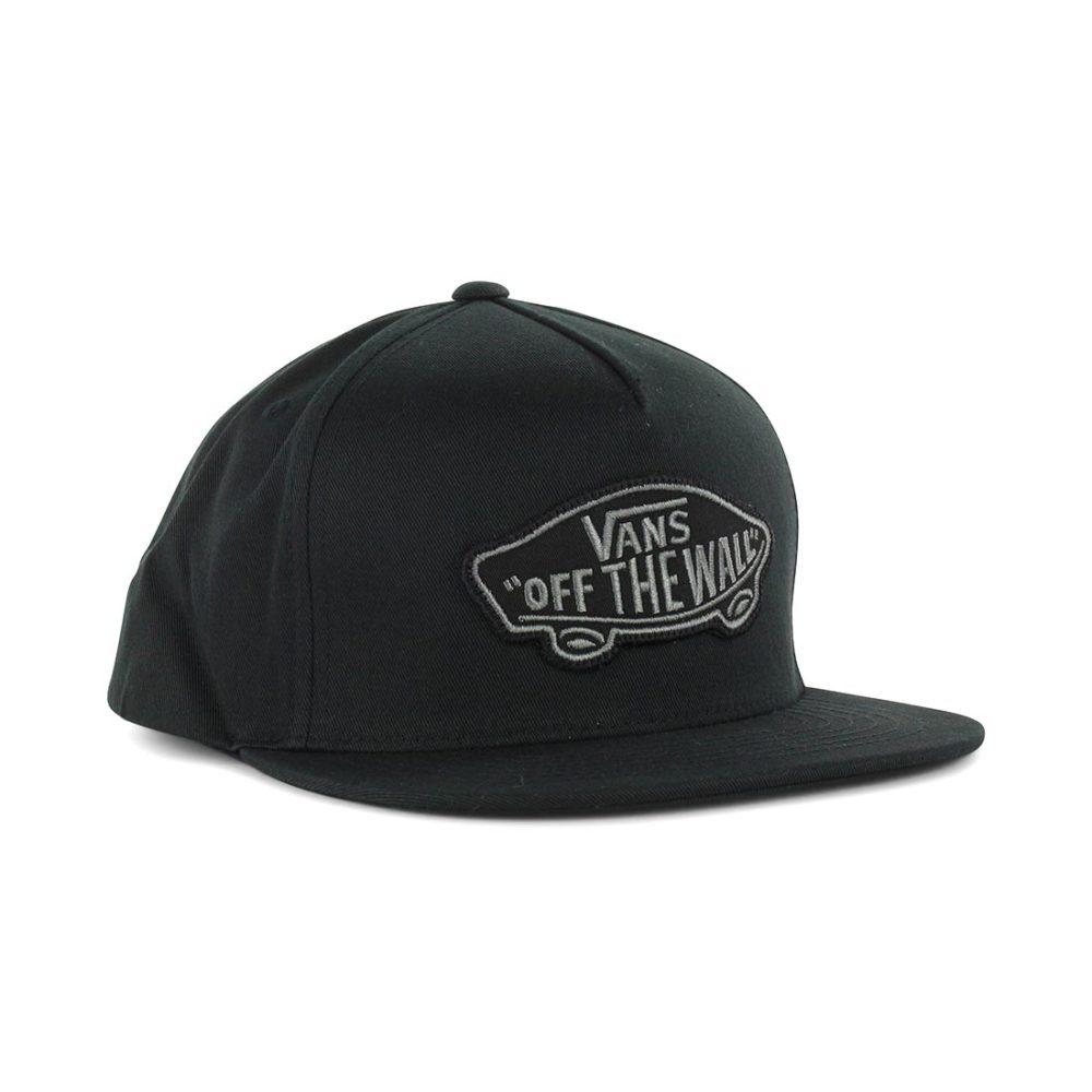 9c84f2b5809 Vans Classic Patch Snapback Hat - Black