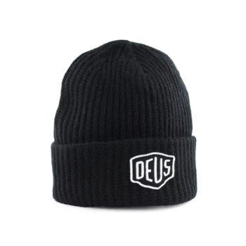 Deus Shield Beanie Black