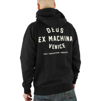 Deus Venice Address Hoodie Black