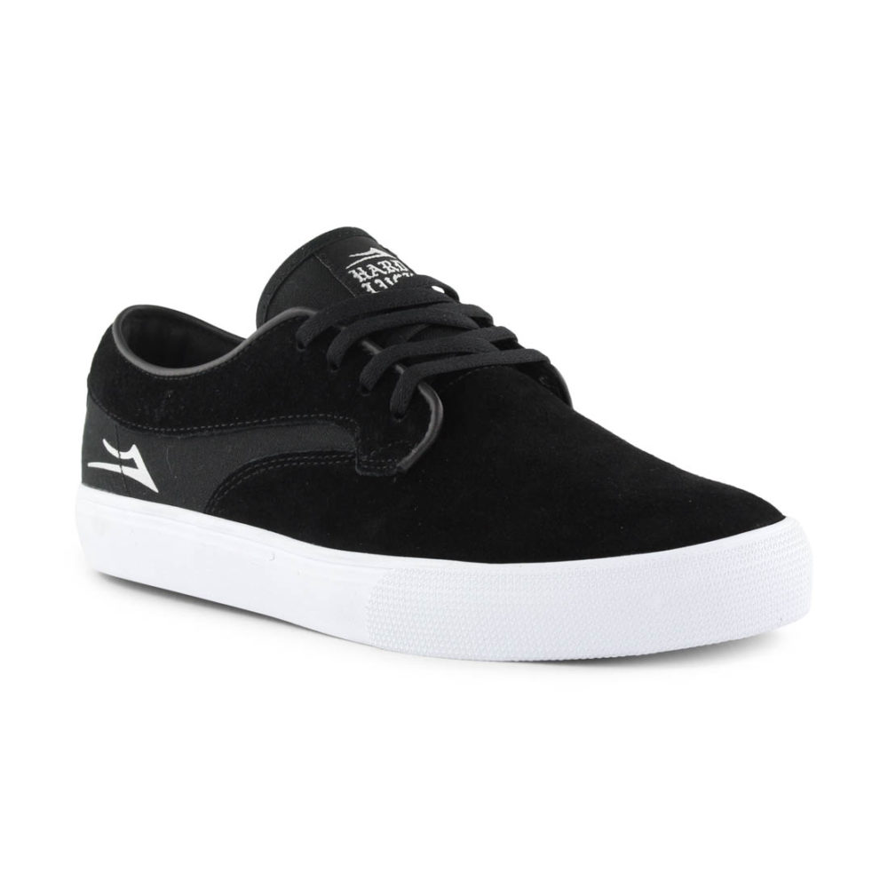 4b9625e911 Lakai Shoes x Hard Luck Riley Hawk - Black Suede
