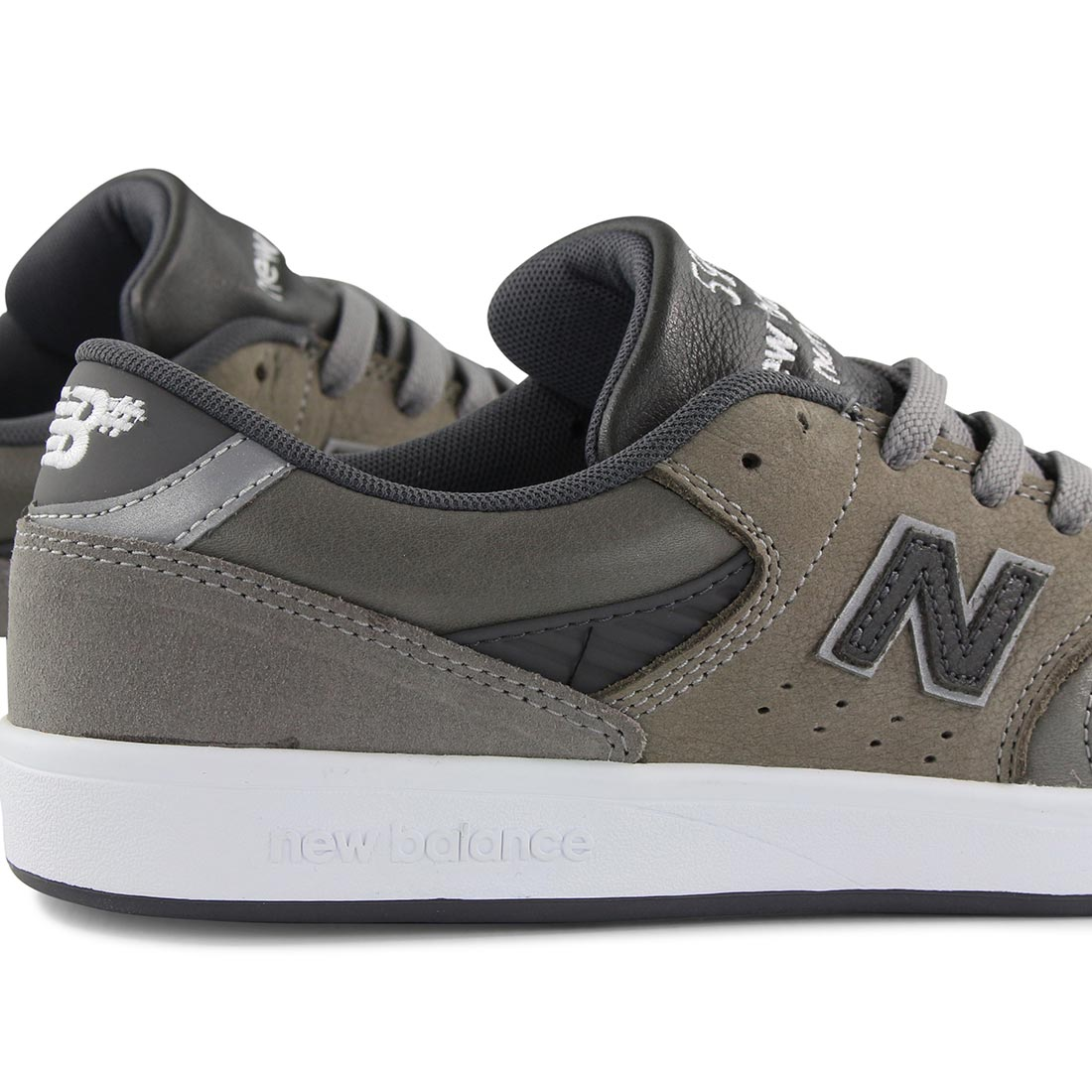 6d21a163dde2f New Balance Numeric 598 Shoes - Grey / Grey