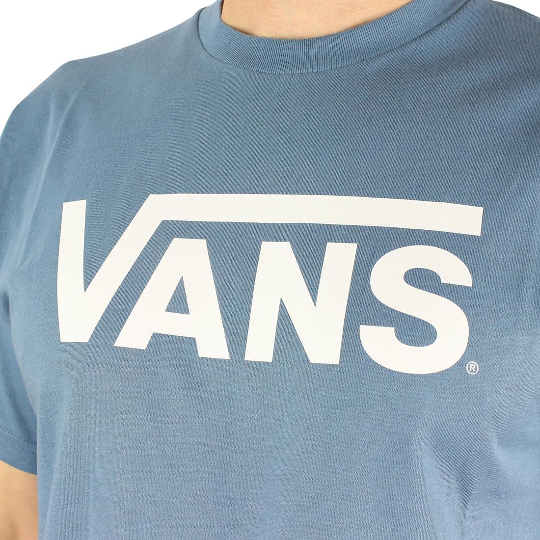 796eda56b40d46 Vans Classic S S T-Shirt - Copen Blue   White
