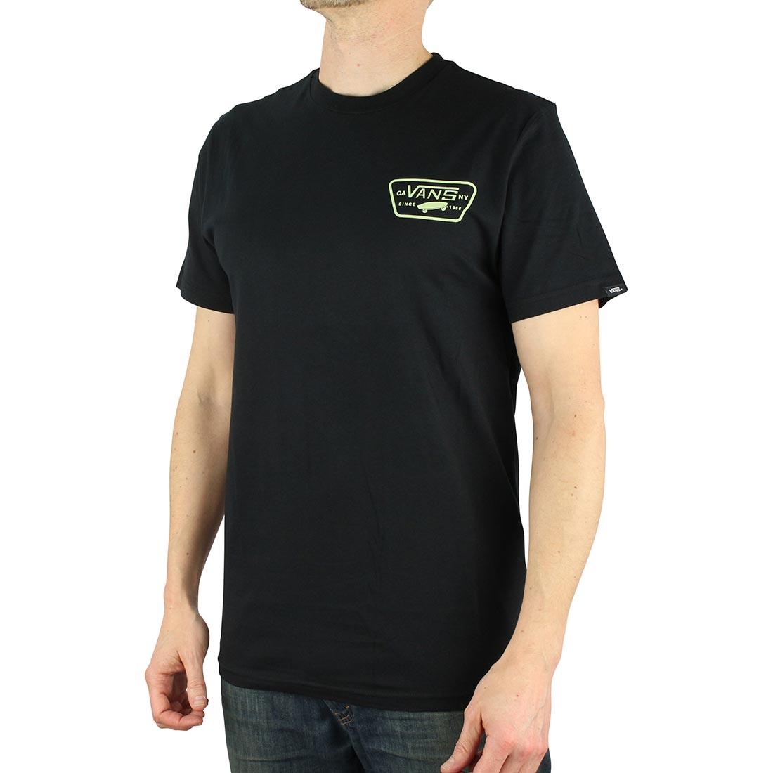 a4aaf115 Vans Full Patch Back S/S T-Shirt - Black Ambrosia