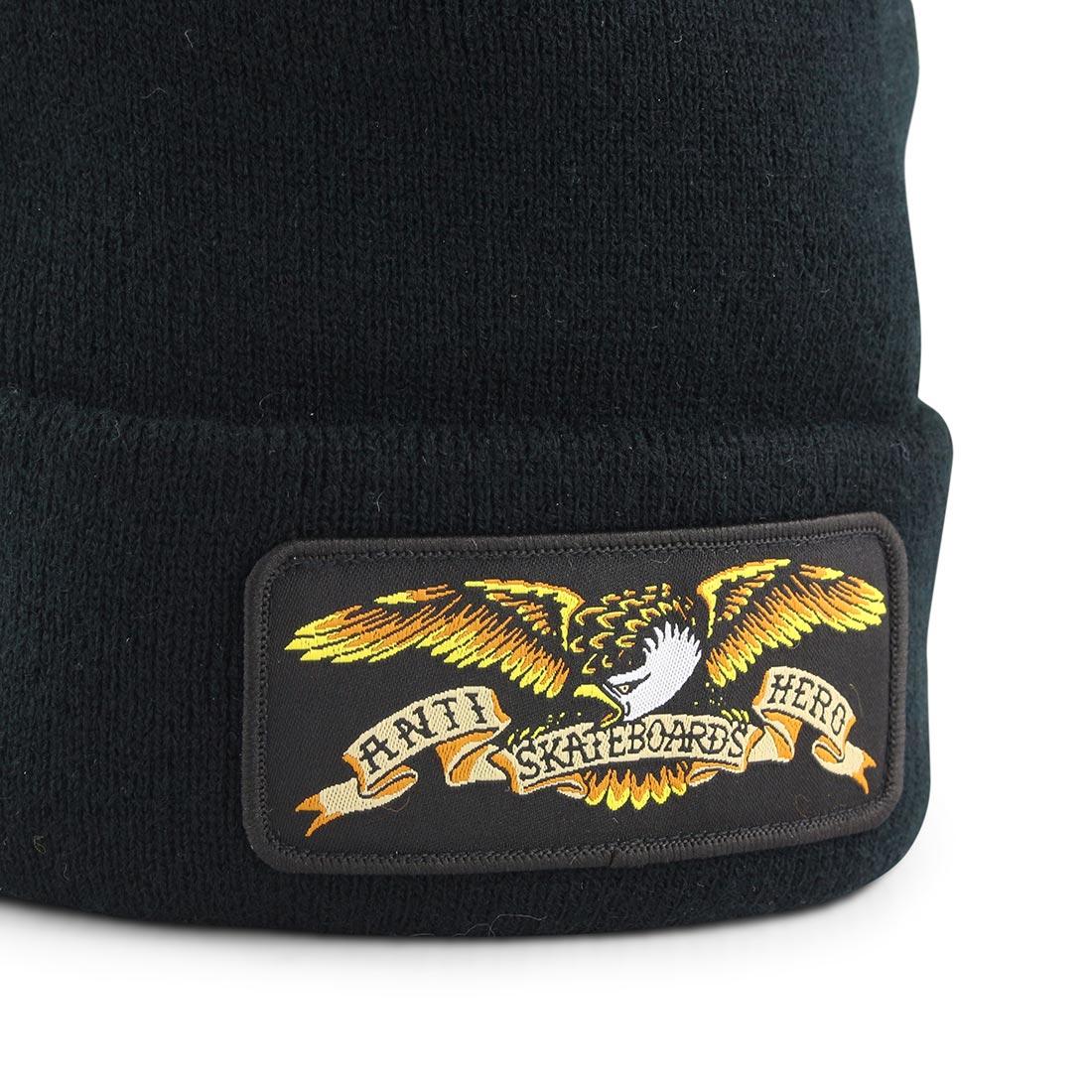 Anti Hero Eagle Patch Beanie Black