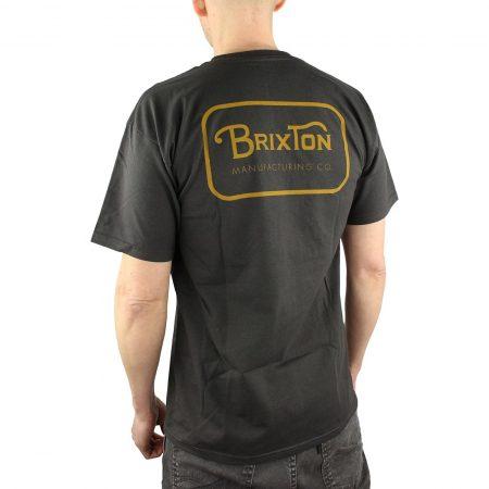 Brixton Grade Tee Black