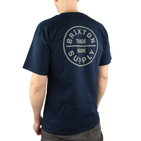 Brixton Oath Tee Navy