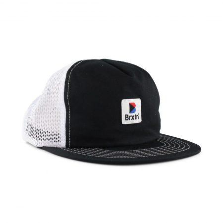 Brixton Stowell Cap Black White