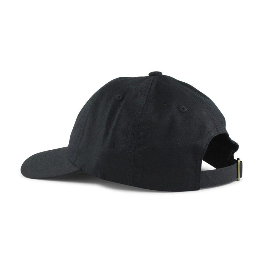 Brixton-Wheeler-6-Panel-MP-Adjustable-Cap-Black-03