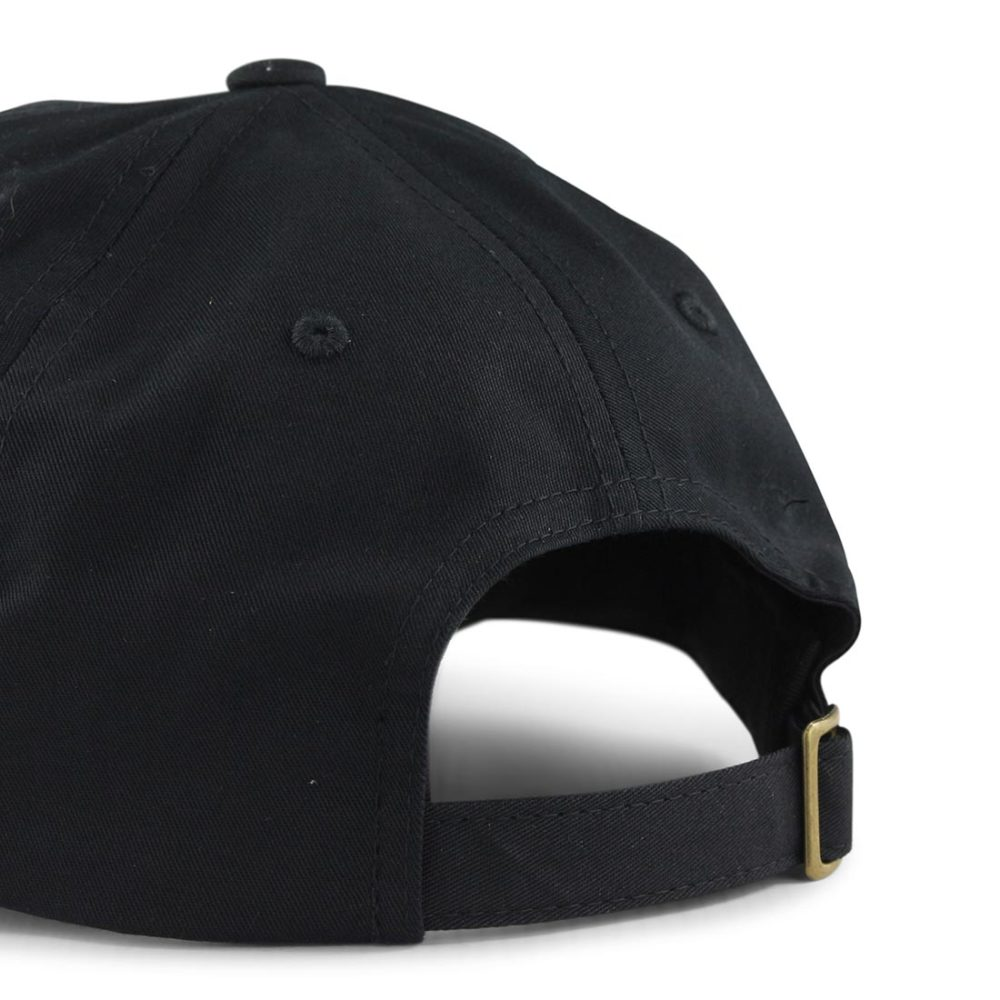 Brixton-Wheeler-6-Panel-MP-Adjustable-Cap-Black-04