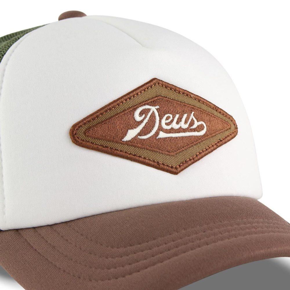 Deus Diamond 2 Trucker Cap Brown