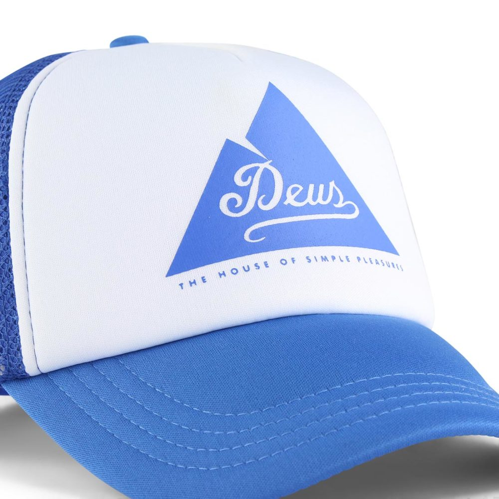 Deus Peak Trucker Cap Cobolt