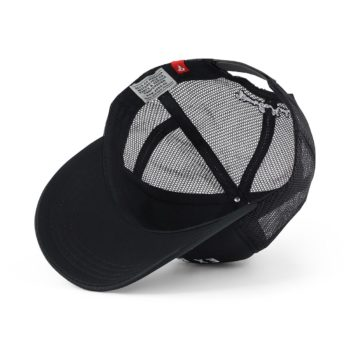 Deus Venice Address Mesh Back Cap Black