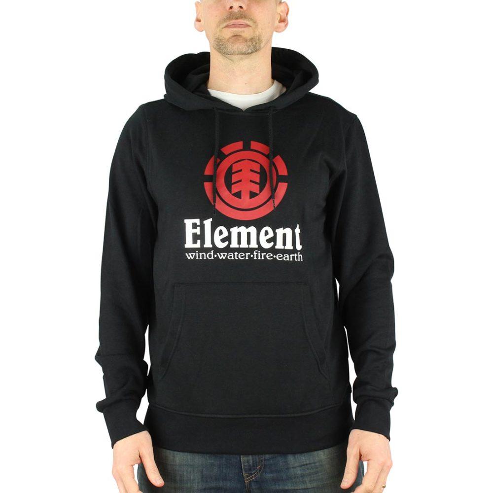 Element Vertical Hoodie Black