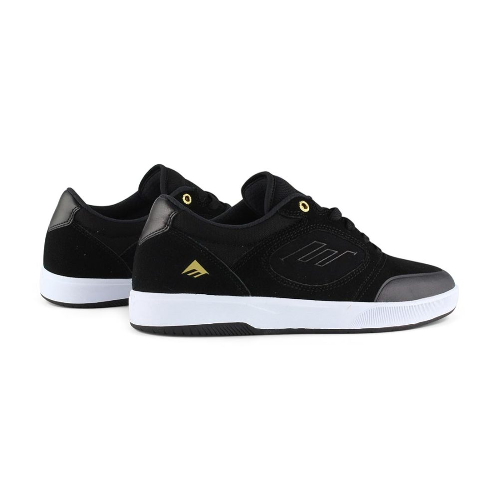 Emerica Dissent Black White
