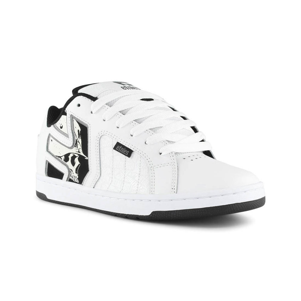 186faacbb8a Etnies Metal Mulisha Fader 2 Shoes - White   Black   Grey