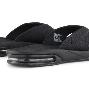 Reef Fanning Sandals All Black
