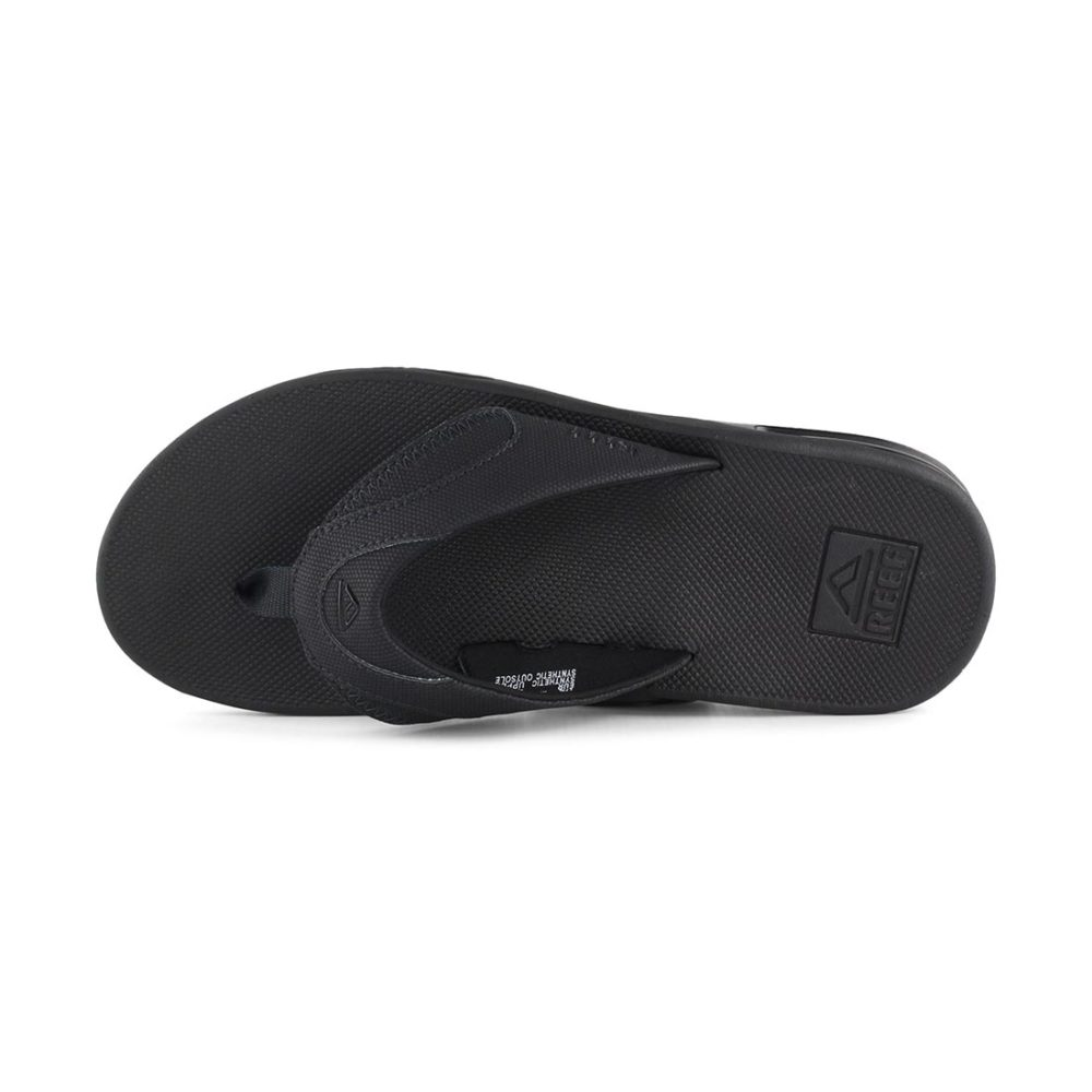 Reef Fanning Sandals All Black