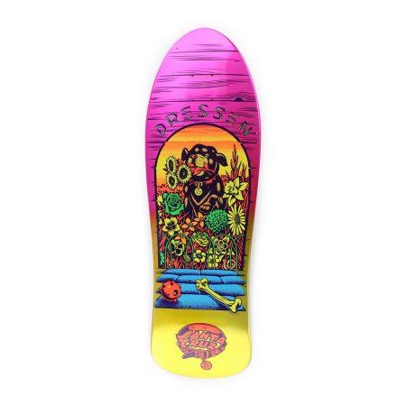 Santa Cruz Dressen Pup Reissue Skateboard
