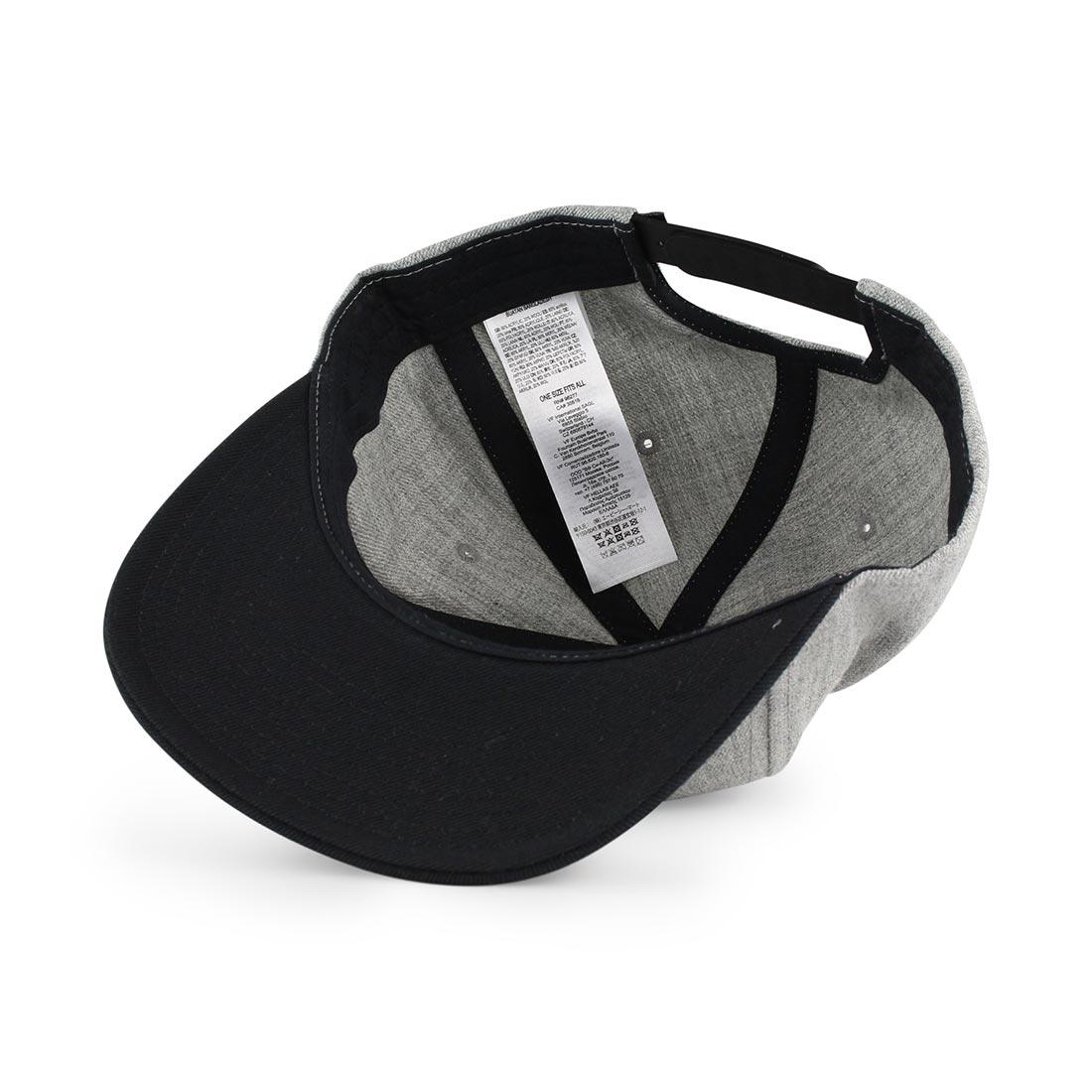 6ae9b407 Vans Drop V II Snapback Hat - Heather Grey