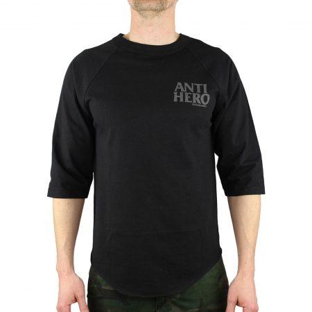 Anti Hero Lil Black Hero Raglan T-Shirt