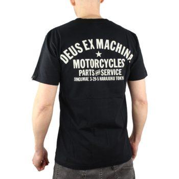 Deus Ex Machina Tokyo Address (Shield) T-Shirt - Black