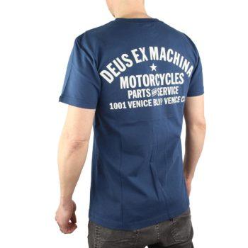 Deus Ex Machine Venice Address Tee Navy