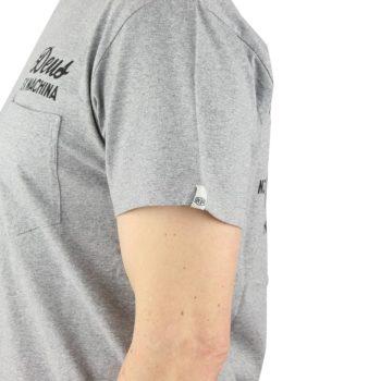 Deus Ex Machina Venice LA Address T-Shirt - Grey Marle