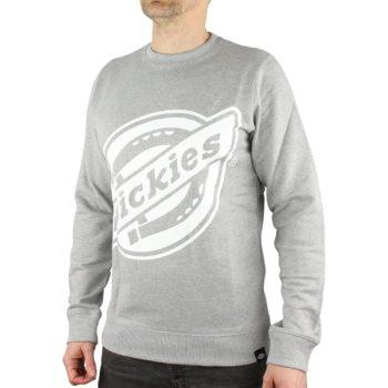 Dickies Point Comfort Crew Neck Sweatshirt - Grey Melange