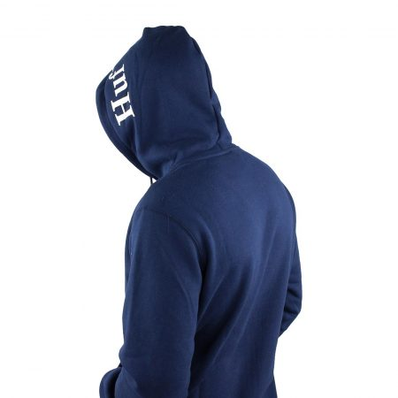 HUF Outline Box Hoodie Navy