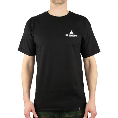 HUf Peak Tee Black
