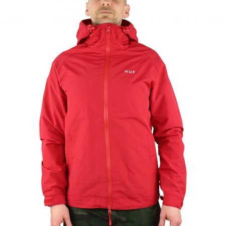 HUF Standard Shell Jacket Red