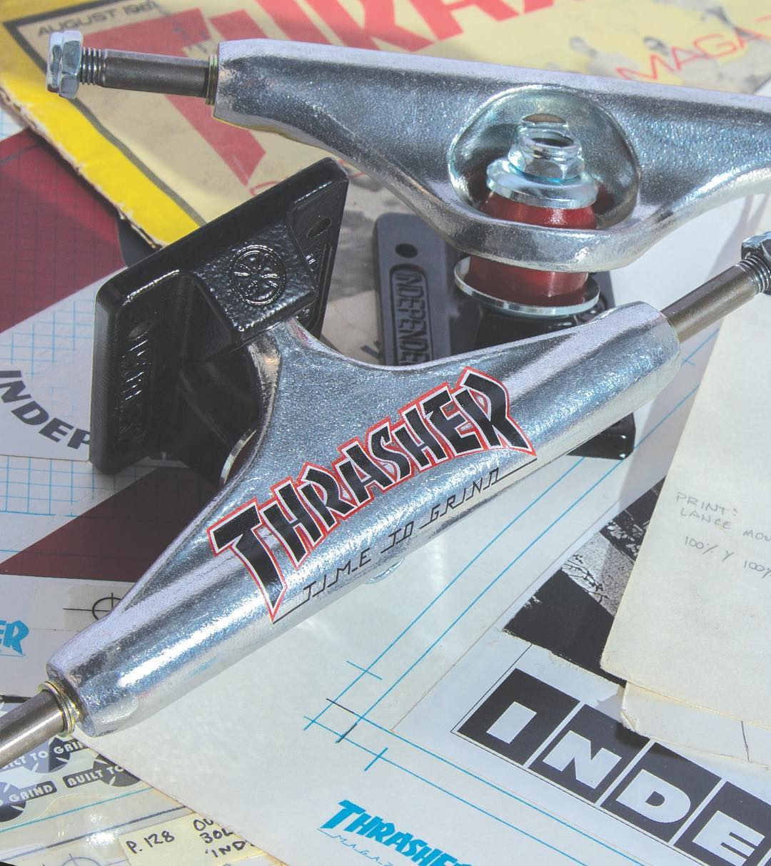 Independent Trucks x Thrasher Collab