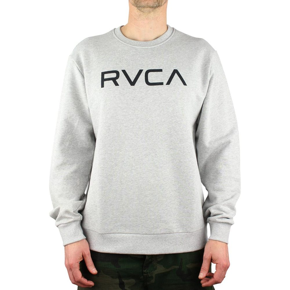 RVCA Big RVCA Crew Sweater - Athletic Heather