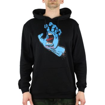 Santa Cruz Screaming Hand Hoodie Black