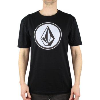 Volcom Classic Stone DD S/S T-Shirt - Black