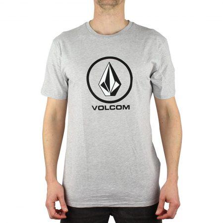 Volcom Crisp BSC S/S T-Shirt - Heather Grey