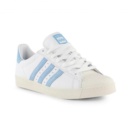 Adidas Krooked Superstar Vulc White