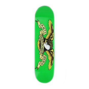 Anti Hero Classic Eagle Skateboard Deck Green